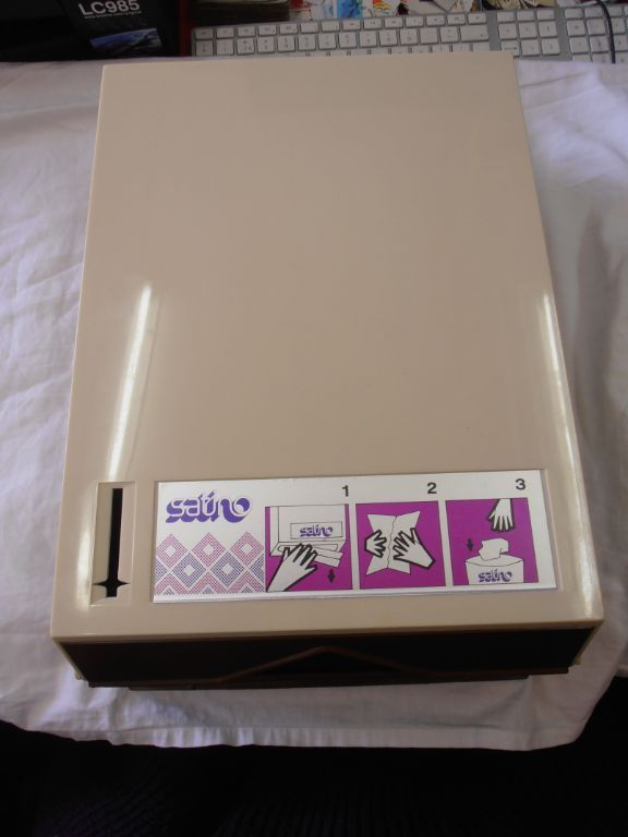 Satino kunststof handdoek dispenser