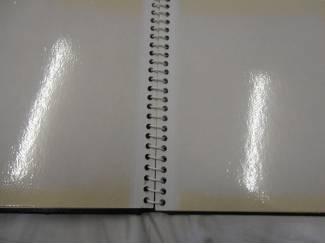 Foto album zwart met 10 bladen.