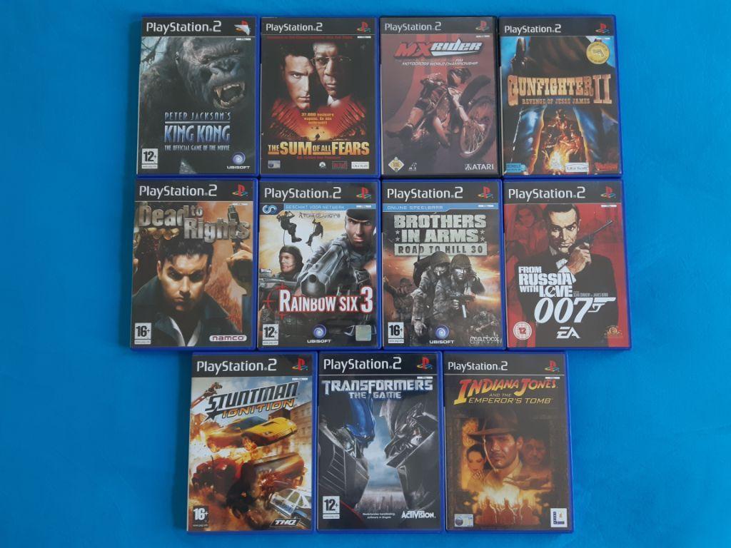 11x Playstation 2 Games