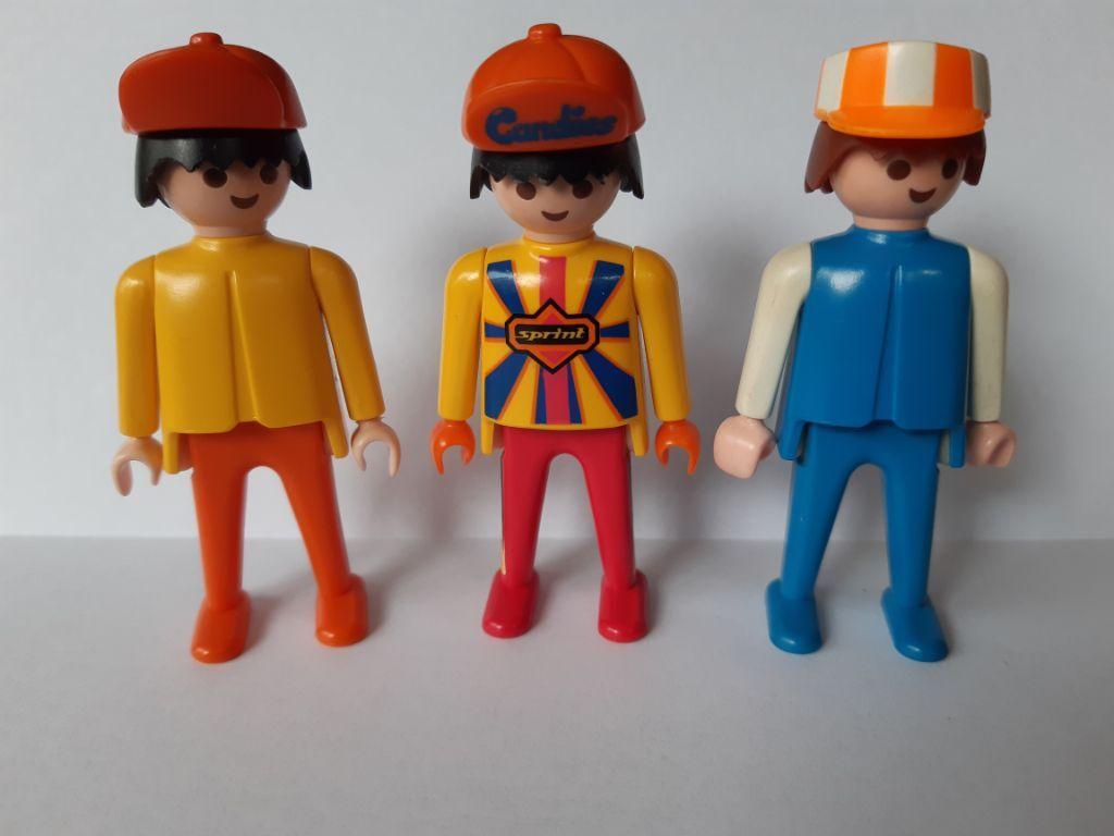 3x Playmobil figuren 1974