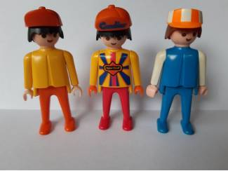 3x Playmobil figuren 1974