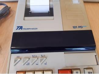 Kantoorbenodigdheden Triumph Adler 121PD plus - Rekenmachine