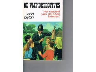 De vijf detectives – Het raadsel van de boze brieven–Enid Bly