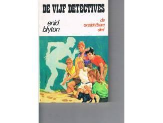 De vijf detectives – De onzichtbare dief – Enid Blyton