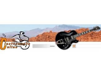 Snaarinstrumenten | Gitaren | Akoestisch Richwood linkshandig dreadnoughtmodel, naturel