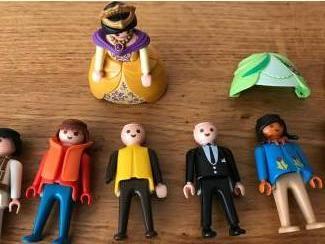 Losse poppetjes Zak met 45 Playmobil figuren