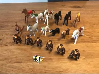 Speelgoed   Playmobil Zak met 19 Playmobil dieren