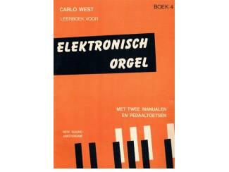 Carlo West – Leerboek voor elektronisch orgel boek 4
