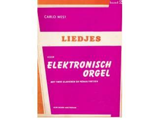 Carlo West – Liedjes voor elektronisch orgel band 2