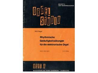 Willi Nagel – Orgel Studio – Heft A