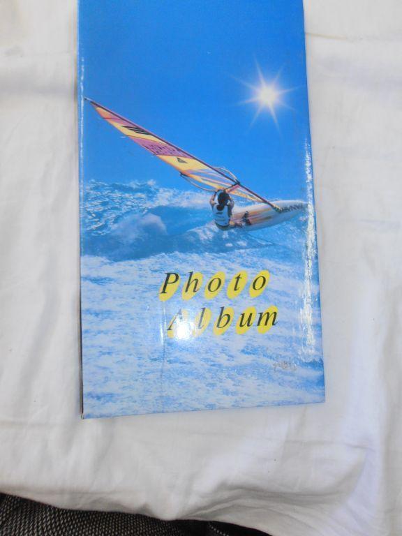 Foto verzamelmapje surfplank