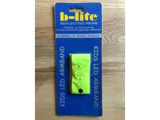 b-lite Reflective wear Kids LED armband