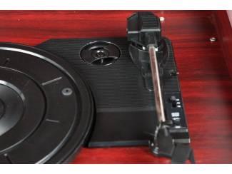 Platenspelers en Pick-ups Platenspeler Fenton RP150 Retro look met CD-speler en USB