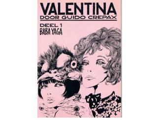 Guido Crepax – Valentina deel 1 – Baba Yaga