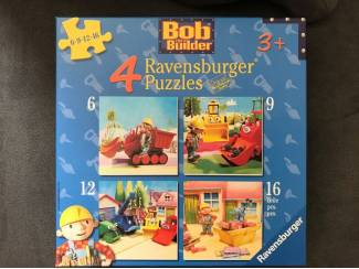 Bob the Builder 4 puzzels Ravensburger