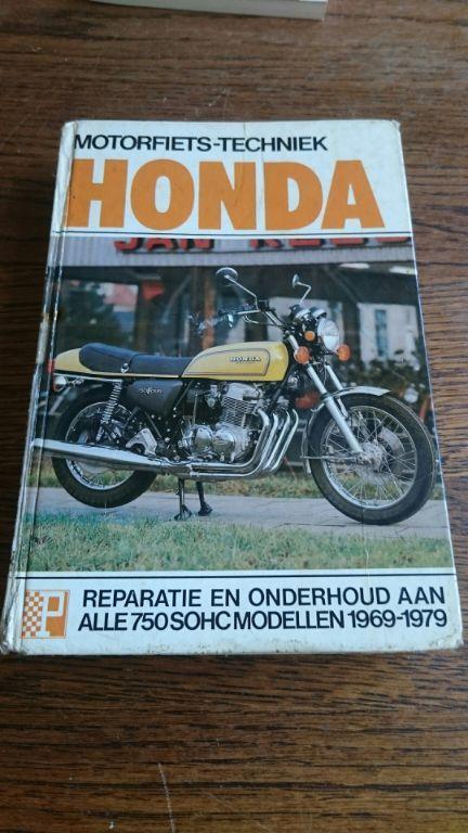Handboek honda 750