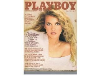 Playboy US 1981 nr. 6 (zonder middenpagina)