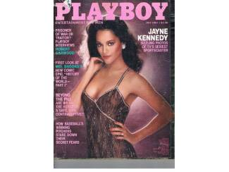 Playboy US 1981 nr. 7 (zonder middenpagina)