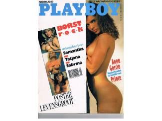 Playboy NL 1989 nr. 11 (zonder poster)