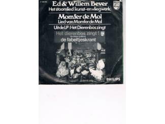 Grammofoon / Vinyl   Singles Ed & Willem Bever – Het stoomlied –  1970