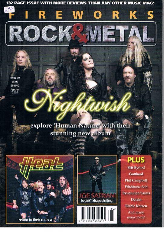 Fireworks Rock & Metal issue 90 April – June 2020