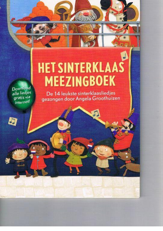 Het Sinterklaas meezingboek