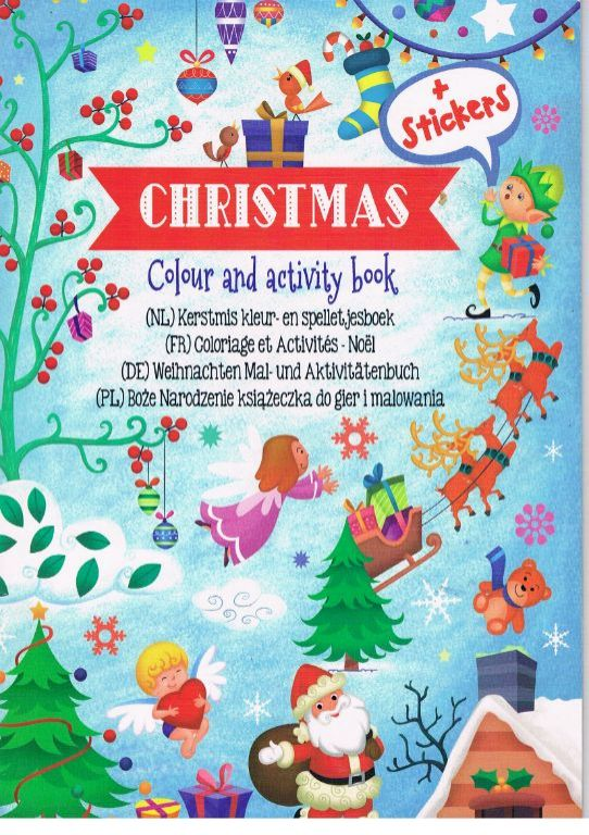 Christmas Colour and activity book