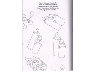 Kinderboeken Christmas Colour and activity book