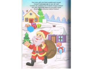 Kerst Christmas Colour and activity book