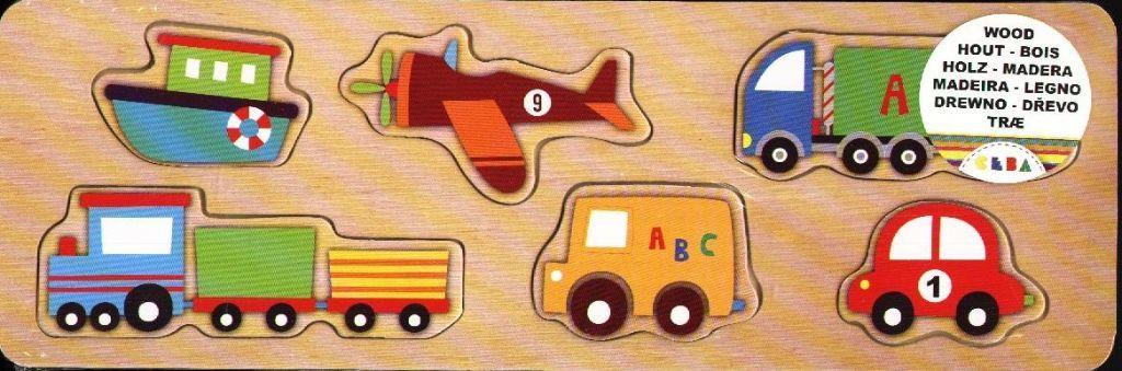 Puzzelplankje Transport