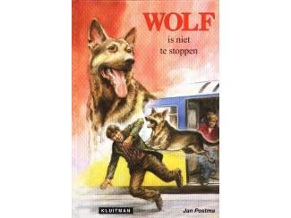 Jeugdboeken Wolf is niet te stoppen - Jan Postma