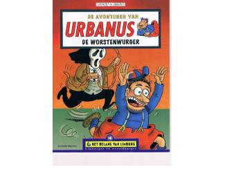 Urbanus - De worstenwurger 1e druk