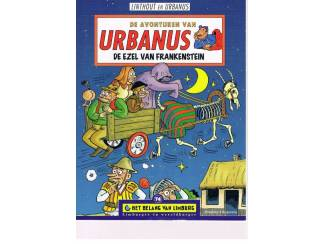 Urbanus – De ezel van Frankenstein 1e druk