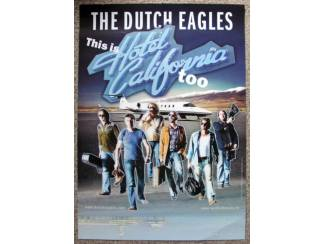 The Dutch Eagles This is Hotel California Poster / Affiche
