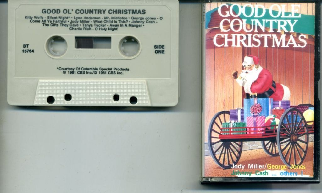 Good Ole Country Christmas 14 nrs cassette 1981 als NIEUW