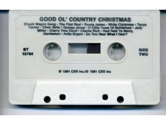 Kerst Good Ole Country Christmas 14 nrs cassette 1981 als NIEUW