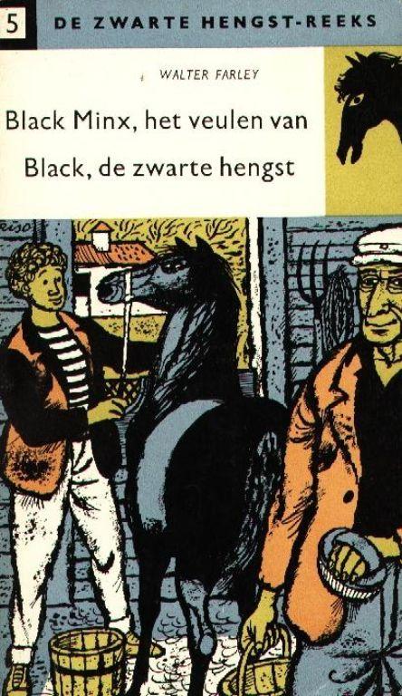 Zwarte Hengst dl 5 - Black Minx, het veulen van Black, de zwarte