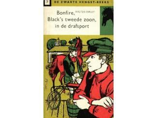 Jeugdboeken Zwarte Hengst dl 7 - Bonfire, Black's tweede zoon, in de drafspo