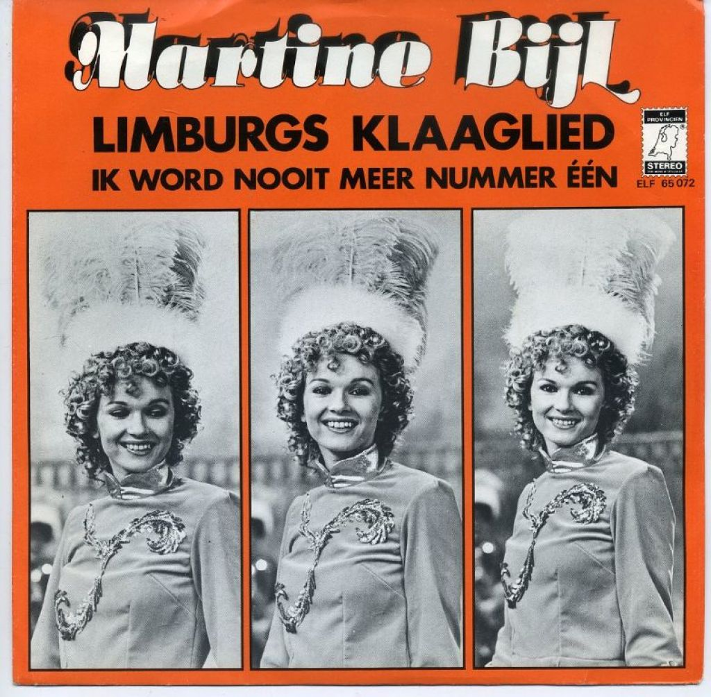 Martine Bijl Limburgs klaaglied Carnaval single 1977 ZGAN
