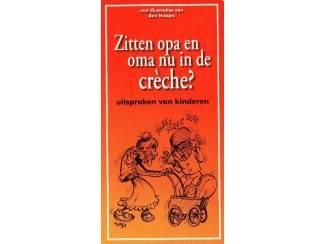 Overige Boeken en Diversen Zitten opa en oma nu in de creche - Libro