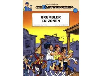 De Blauwbloezen dl 11 - Grumbler en zonen - Cauvin & Lambil