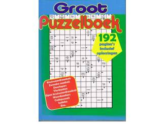 Groot Puzzelboek