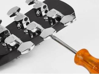 Snaarinstrumenten | Gitaren | Semi-Akoestisch Nashville semi-akoestische gitaar met ingebouwd stemapparaat.