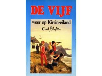 De Vijf 6 - De Vijf weer op Kirrin-eiland - E Blyton - blauw