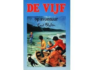 De Vijf dl 9 - De Vijf op avontuur - Enid Blyton - blauw