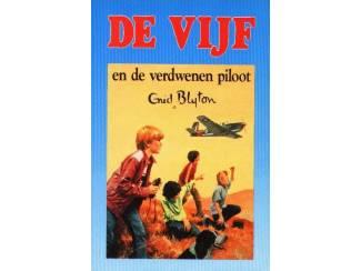 De Vijf 13 - De Vijf en de verdwenen piloot - E.Blyton blauw