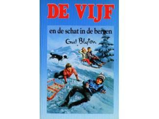 De Vijf 14 - En de schat in de bergen - Enid Blyton - blauw