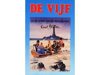 De Vijf 17-en de schat van de strandjutter - E Blyton blauw
