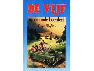 De Vijf 18 - De Vijf op de oude boerderij - E. Blyton blauw