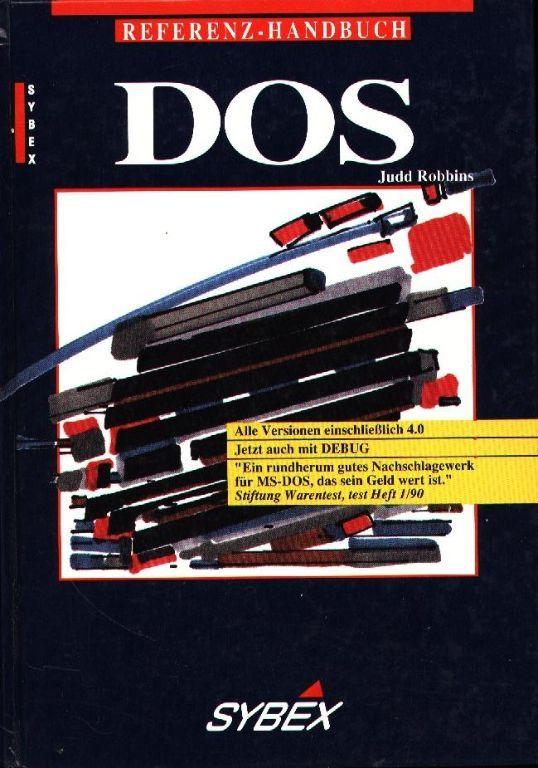 MS - DOS Handbuch - Judd Robbins - Duits - Deutsch